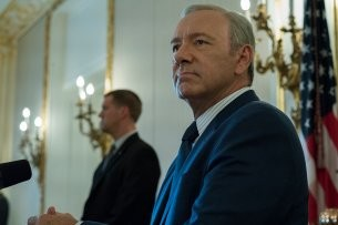 "Kevin Spacey in ""House of Cards"""